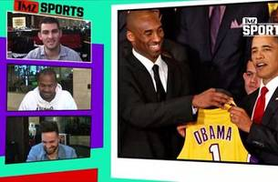 barack obama gets hollywood assist from kobe bryant | tmz sports