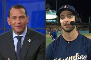 Ryan Braun joins Alex Rodriguez, MLB on FOX crew after Brewers NLCS Game 3 win   FOX MLB