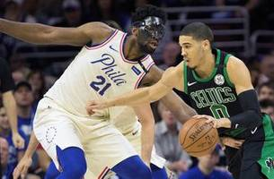 Nick Wright and Chris Carter preview Celtics vs Sixers NBA 2018-19 season opener