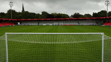 salford city investigate braintree town claims of 'serious crowd trouble' at moor lane