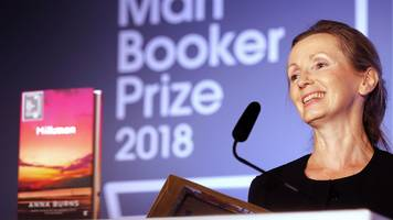 man booker prize: anna burns becomes first winner from northern ireland