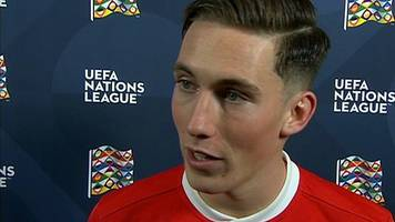 Scoring makes everything better, says Wales match-winner Harry Wilson