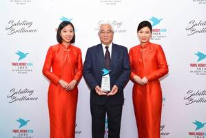 Mandarin Orchard Singapore bags second win as Best Upscale Hotel-Asia Pacific at the Travel Weekly Asia 2018 Readers' Choice Awards