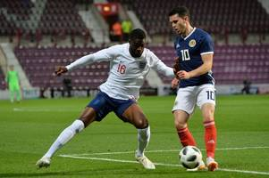 fikayo tomori helps england u21s beat scotland as young rams duo feature for wales and republic of ireland