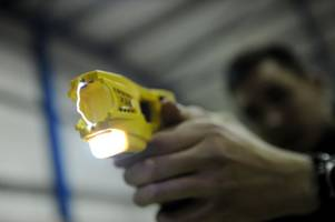 Public want all police officers to carry Tasers to confront 'violent and abusive thugs'
