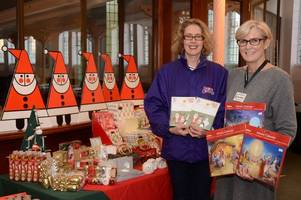 bishop's stortford cards for good causes christmas card pop-up shop to return to united reform church