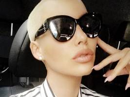 """amber rose to new bae alexander """"ae"""" edwards: """"daddy"""""""