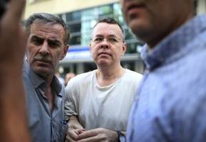 u.s. pastor says he didn't know for 18 months why turkey was detaining him