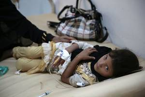 un says if fighting doesn't stop in yemen, it could face the worst famine in 100 years