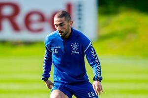 eros grezda pushing for first rangers start as he reveals talks with steven gerrard