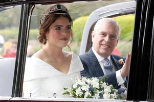 meghan markle pregnancy news 'tipped princess eugenie over edge' as she 'disappeared' at own wedding