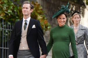 pippa middleton 'gives birth to first child with husband james matthews'