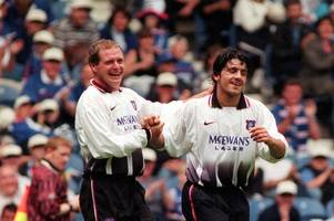 rino gattuso tells incredible paul gascoigne story on time rangers icon stunned him with generosity