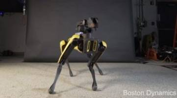 boston dynamics spotmini robot can bust a move