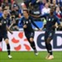 France beat Germany as Ukraine, Georgia and Gibraltar celebrate