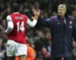 henry: wenger and guardiola inspirations for my coaching career