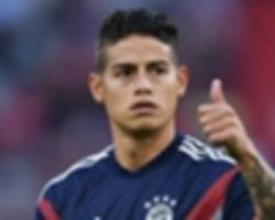 'james will never come back to real madrid' - valderrama believes rodriguez is happy at bayern