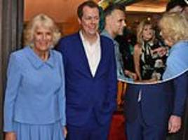camilla attends reception marking royal commonwealth society's 150th anniversary