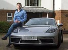 entrepreneur, 21, tries to get off ban for speeding in his £70,000 porsche by pleading poverty