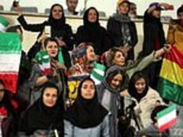 iranian prosecutor says no repeat of women at football match after 100 attend international game