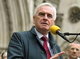 john mcdonnell says he 'longs for a united ireland'