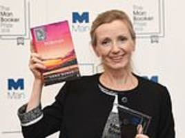 Man Booker Prize winning novel is described as 'challenging' and compared to hiking Snowden