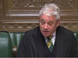 Margaret Beckett says John Bercow should stay as Brexit debates are more important than bullying