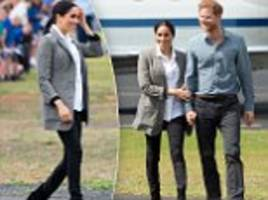 Outland Denim behind Meghan Markle's black jeans reveals they sold out completely within HOURS