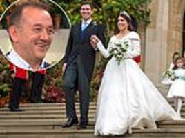 royal wedding florist rob van helden says he was shaking with nerves about the wind