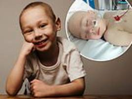 daily mail reader donates £100,000 to appeal to save young boy's life
