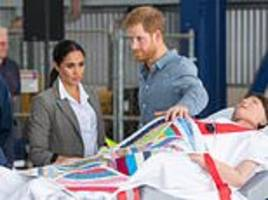 pregnant meghan markle and prince harry get crash course in maternity