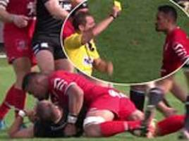 jerome kaino hit with five-week ban for using shoulder in tackle with jamie roberts