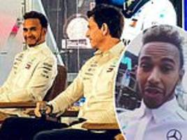 lewis hamilton heads to nasdaq hq and films himself appearing on a times square billboard