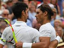 nadal and djokovic under pressure to cancel saudi arabia exhibition