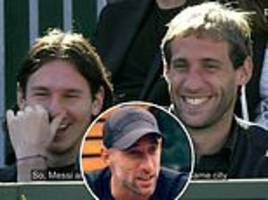 pablo zabaleta recalls how he drove lionel messi to the wrong house in barcelona