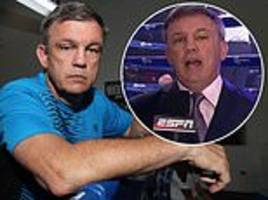 The crazy life story of America's No 1 boxing pundit Teddy Atlas