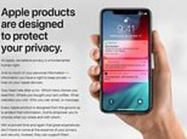 apple launches privacy website that reveals exactly what the firm knows about you