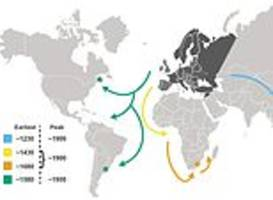 European explorers spread tuberculosis to the Americas, Africa and Asia hundreds of years ago