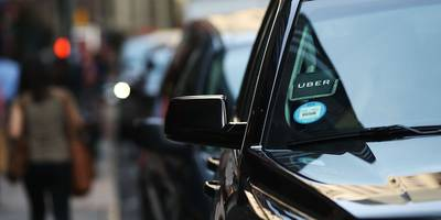An Uber driver has been charged with kidnapping and groping a woman after she fell asleep in his car