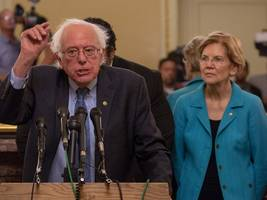 Bernie Sanders and Elizabeth Warren accuse Amazon of 'potentially illegal' activity in new attack against the company's labor practices (AMZN)