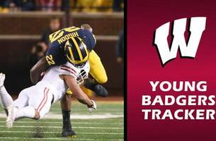 even in defeat, play of young badgers secondary stands out