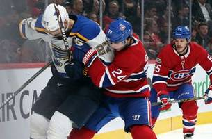 Blues open three-game Canadian road trip at surprising Canadiens