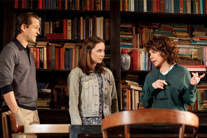 'apologia' theater review: stockard channing and hugh dancy recall what went wrong