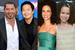 dave bautista action-comedy 'my spy' adds ken jeong, parisa fitz-henley, chloe coleman to cast