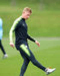 Man City injury news: Kevin de Bruyne set for Premier League START against Burnley