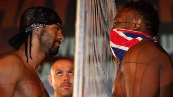 Haye to manage Chisora - six years after brawl between pair
