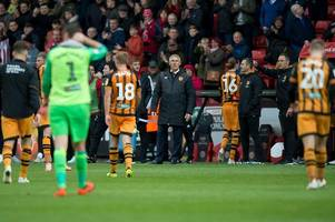 nigel adkins calls for a united front as hull city roll up sleeves for a relegation scrap