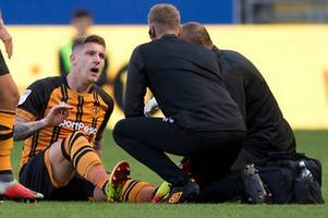 jordy de wijs gives hull city a huge fitness boost ahead of crucial preston north end clash