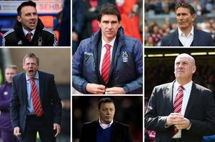 how aitor karanka's nottingham forest record compares to his predecessors