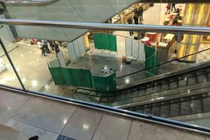 Westfield Stratford incident: Pictures show shocking scene where man fell from height at shopping centre